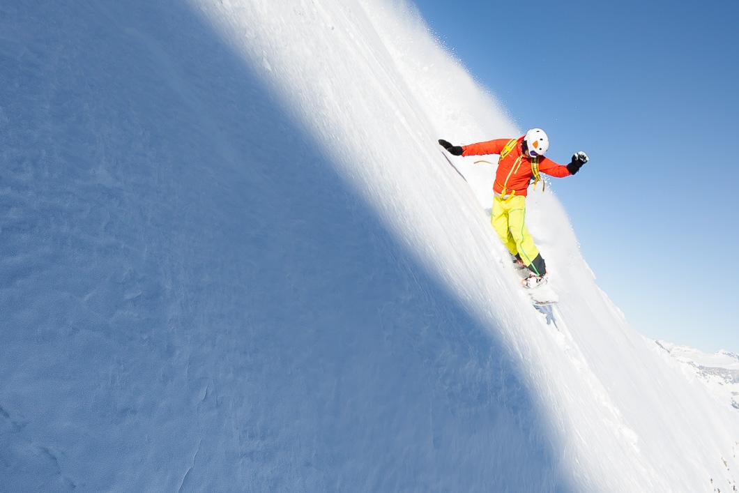 snowboard megeve ski school II