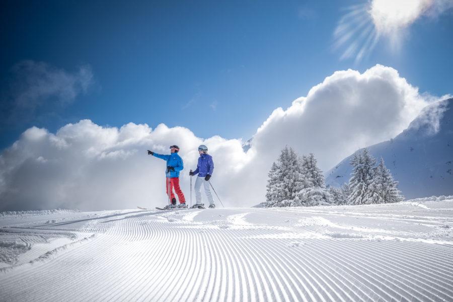 cours de ski à Megève
