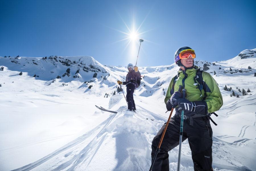 megeve ski hiver