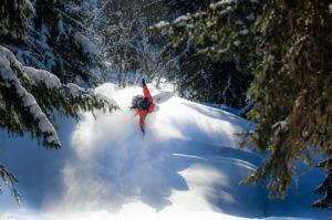 snowboard lessons megeve